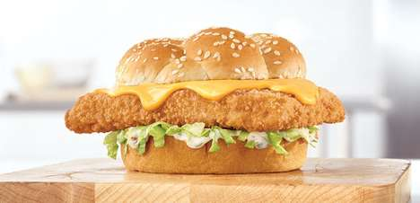 Cheesy Fish Sandwiches
