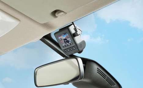 Ultra-Discreet Auto Dash Cams