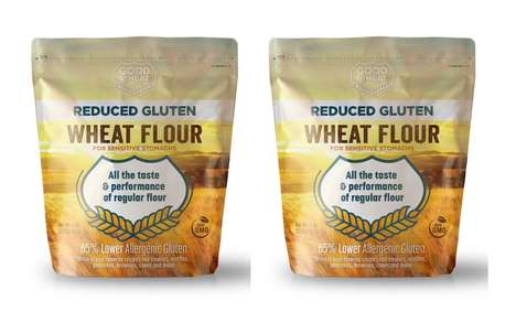 Functional Gluten-Reduced Flours