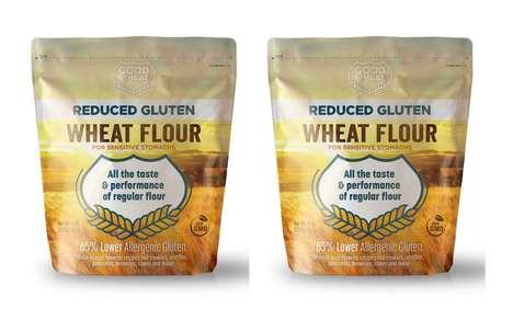 Functional Gluten-Reduced Flours