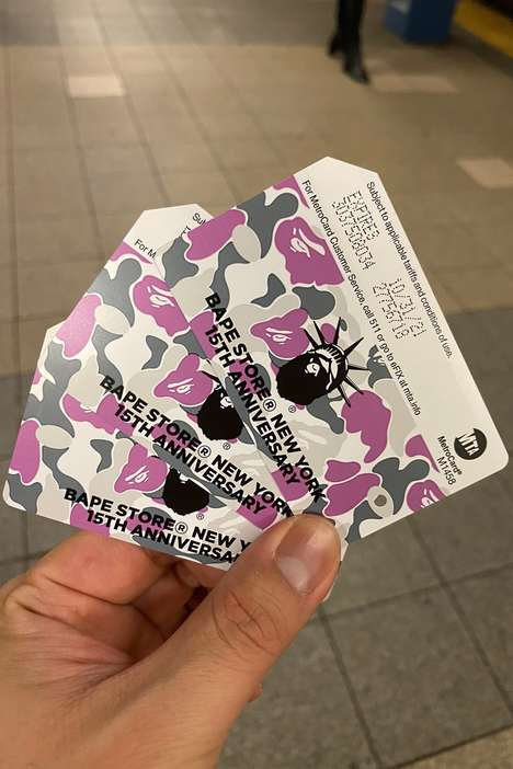 Limited-Edition Streetwear MetroCards