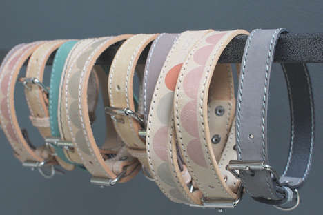 Handcrafted Modern Dog Collars