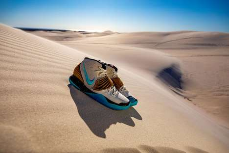 Egyptian God-Informed Sneaker Designs