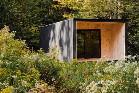 Remotely Contemporary Cedar Cabins