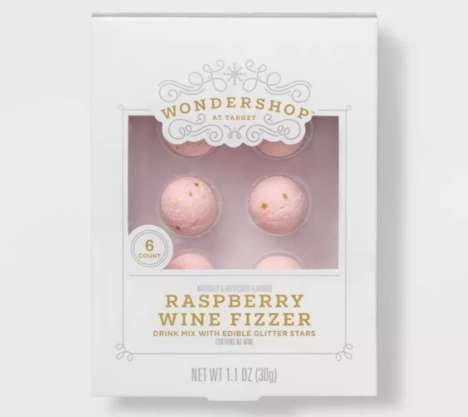 Glitter-Filled Wine Balls