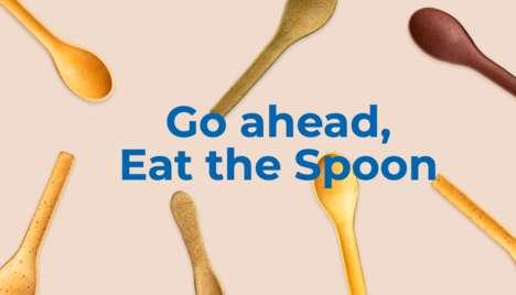 Grain-Based Edible Cutlery