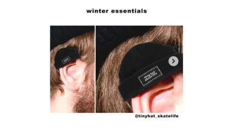 Ear-Sized Beanies
