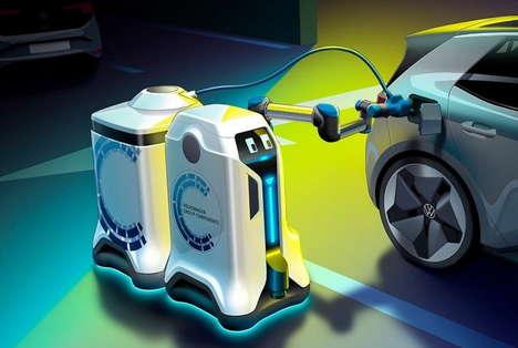 Car-Charging Robots