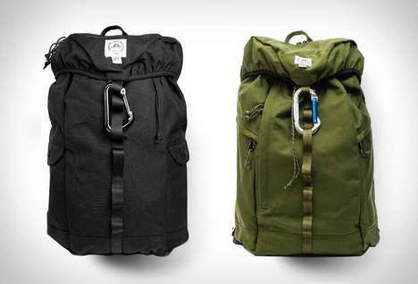 Vintage-Inspired Climber Packs