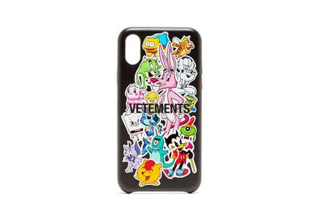Remixed Cartoon Smartphone Cases