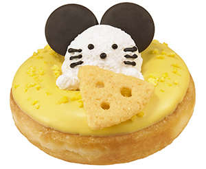 Cheesy Rodent-Topped Donuts