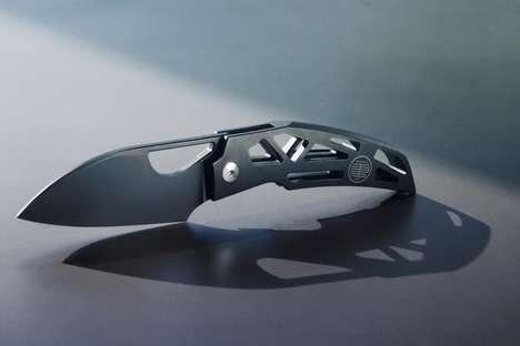 Skeletal Prismatic EDC Knives
