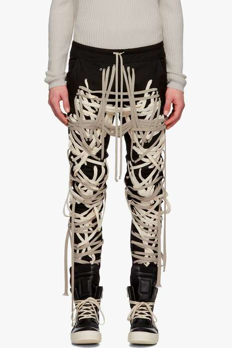 Unconventional Laced Cargo Pants