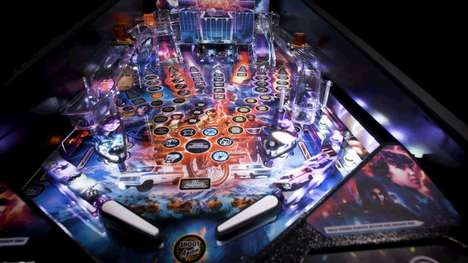 Sci-Fi-Themed Pinball Machines