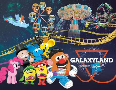 Toy-Themed Amusement Parks