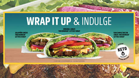 Keto-Friendly Lettuce-Wrapped Burgers
