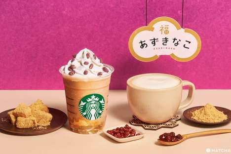Textured Mochi Frappuccinos
