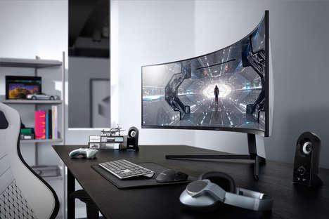 Eye-Accommodating Gaming Monitors
