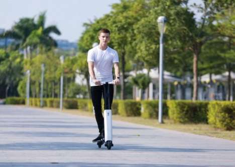 Self-Balancing Commuter Scooters