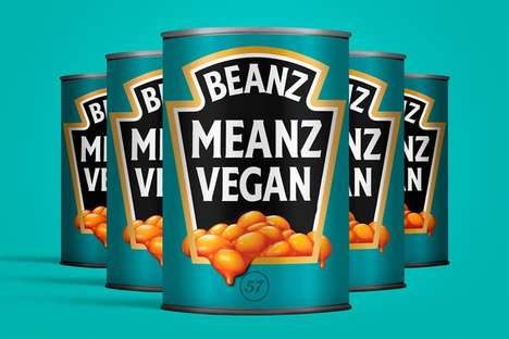Promotional Vegan Bean Ads