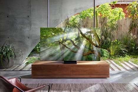 Immersive Frame-Free TVs