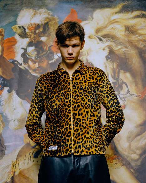 Animal Print-Accented Clothing
