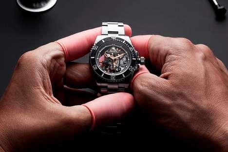 Ultra-Luxe Bespoke Timepiece Designs
