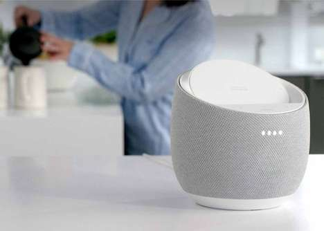 Qi-Enabled Voice Assistant Speakers