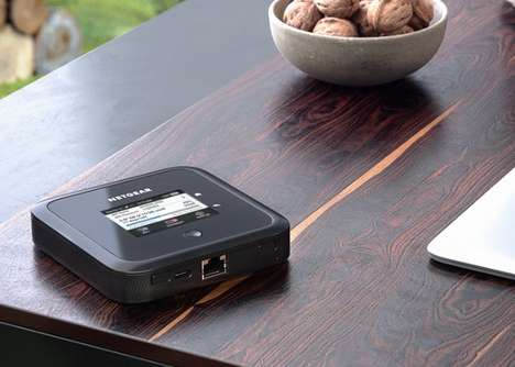 WiFi 6-Enabled Mobile Routers