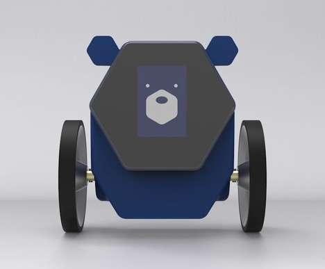 Toilet Paper-Providing Robots
