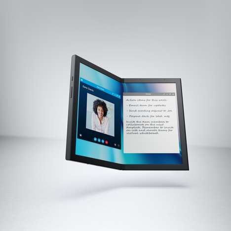Foldable Seam-Free Tablets