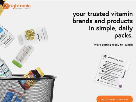 Curated Vitamin Pack Services