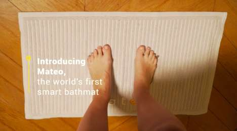 Smart Bathroom Mats