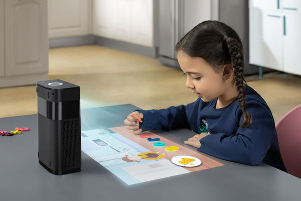 Assistive Touchscreen Projectors