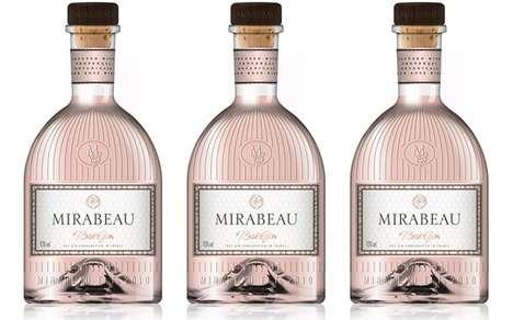 Versatile Pink-Hued Spirits