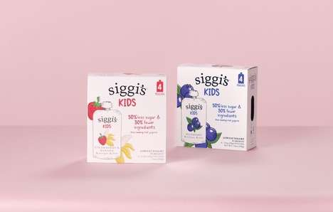 Kid-Targeted Low-Sugar Yogurts