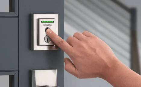 Discreet Biometric Door Locks