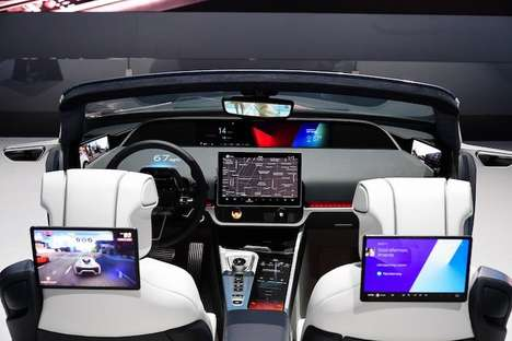 Futuristic Vehicle Cockpits