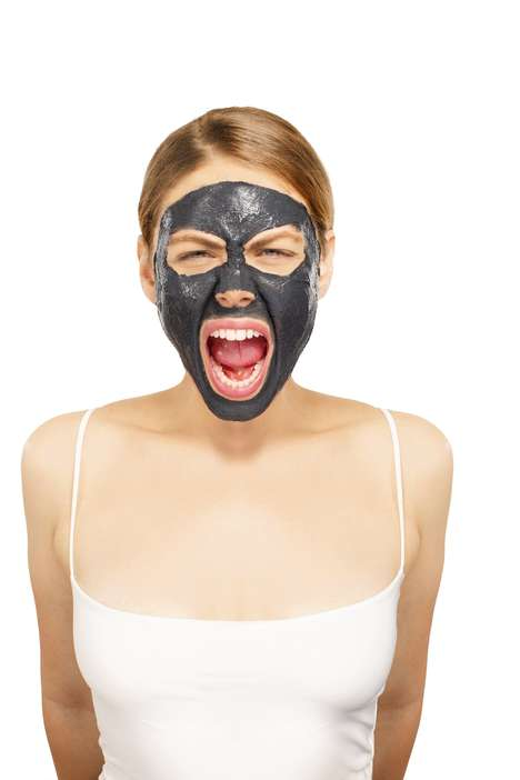 Rub-Off Charcoal Masks