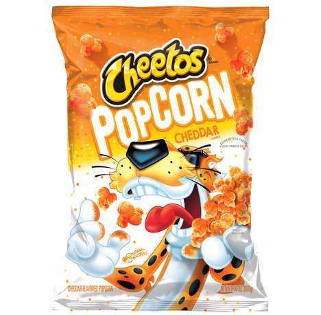 Cheesy Dusted Popcorn Snacks