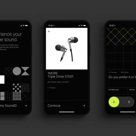 Sound-Customizing Headphones