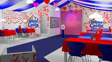Romantic Fast Food Pop-Ups