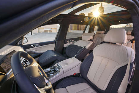 Relaxing Recliner SUV Seats