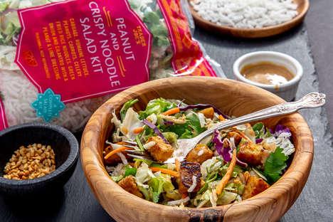Crunchy Pre-Mixed Salad Kits