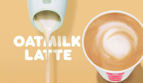 Creamy Oat-Based Lattes