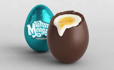 Delicious Vegan Creme Eggs