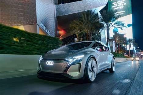 Autonomous AI-Powered Concept Cars