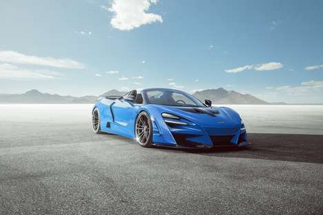 Aerodynamic Sportscar Body Kits