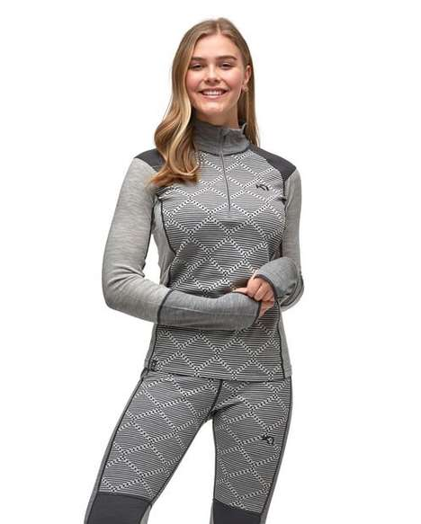 Breathable Merino Wool Base Layers