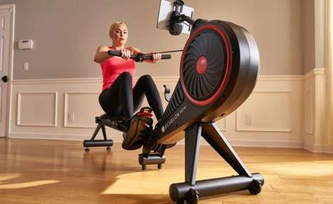 Connected Workout Rowers